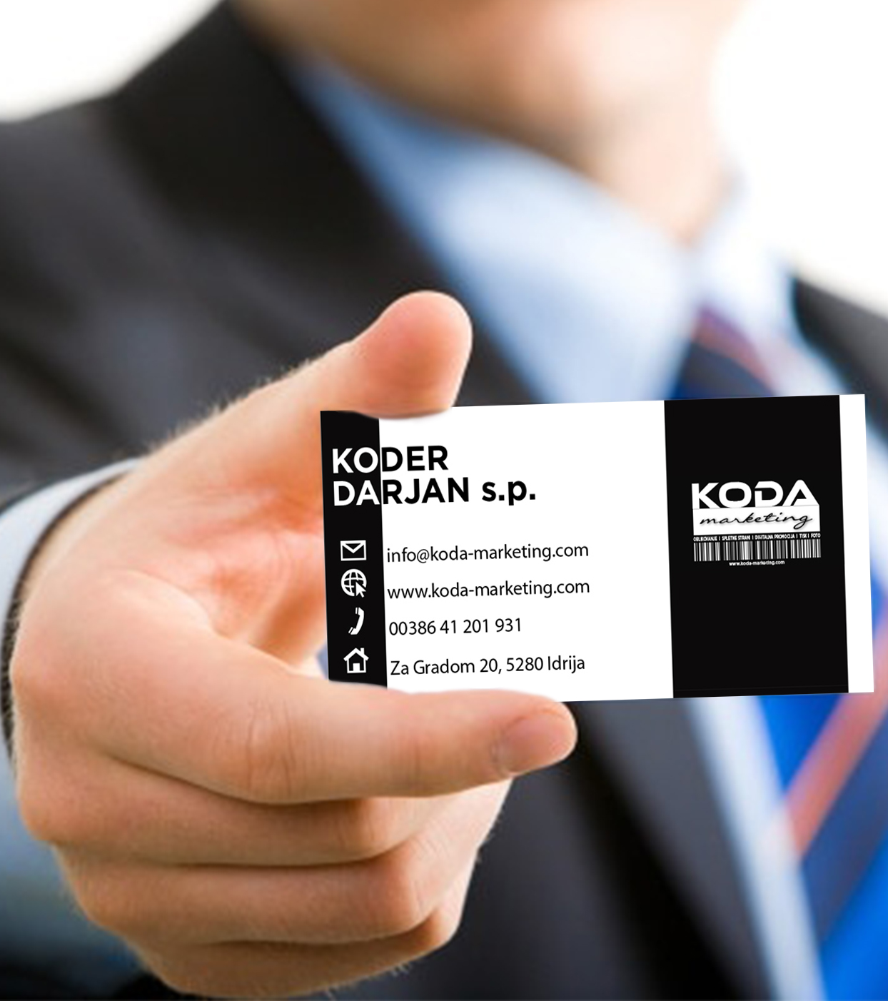 Koda Marketing kartica